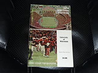 1979 WISCONSIN COLLEGE FOOTBALL MEDIA GUIDE EX BOX 13