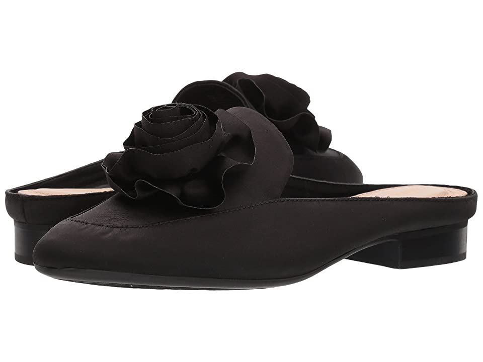 Taryn Rose Blythe (Black Crystal Satin) Women