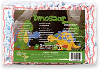 Rearz - Dinosaur - Elite Adult Diapers (12 Pack) (X-Large)