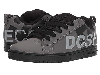 DC Court Graffik SE (Grey/Black/Grey) Men