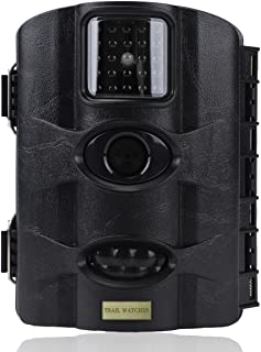 trail watcher Trail Camera 16MP 1080P Infrared Night Vision Camera with 2.4in LCD 24pcs IR LEDs up to 20m IP65 WaterProtected Designed for Wildlife Hunting Monitoring and Farm Security