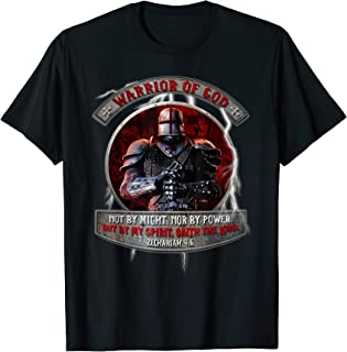 Warrior Of God not by might nor by power but by my spirit T-Shirt