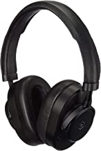 Master & Dynamic MW65 Active-Noise-Cancelling Wireless Over-Ear Headphones Black Metal/Black Leather