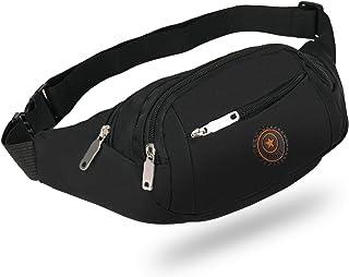 KATELUO Midjebältesväska, vattentät väska, bältesväska, vattentät unisex väska för resor utomhus shopping, löpning