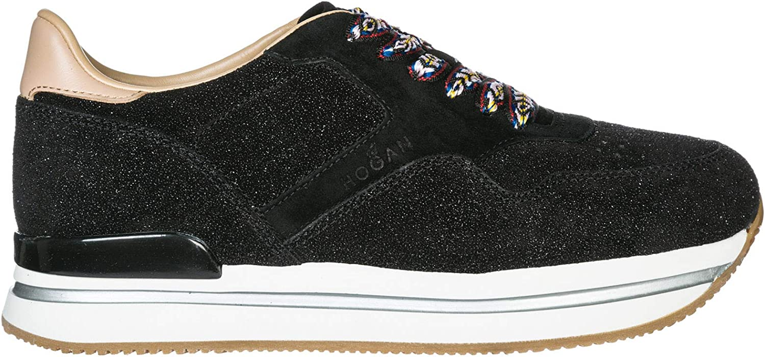 Hogan Women H222 Sneakers black