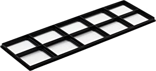 "Decor Grates FRP412 Pristene Air Filter Retainer For Decor Grates Registers, 4"" By 12"", 4 Pack"
