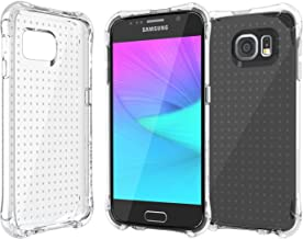 Galaxy S6 Case, Ballistic [Jewel] Six-Sided Drop Protection [Clear] 6ft Drop Test Certified Case Reinforced Corner Protect...