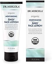 Dr. Mercola Organic Moisturizing Daily Face Lotion, 1 Tube (2.0 Fl. Oz.), non GMO, Gluten Free, Soy Free, USDA Organic