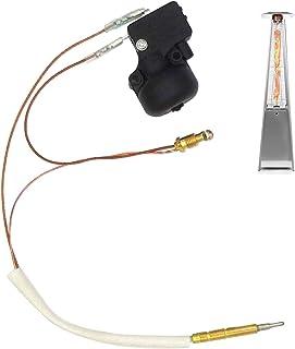 Kit de seguridad de repuesto para calefactor de gas propano y interruptor de descarga.