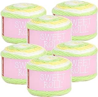 Premier Yarns 98736 Sweet Roll Yarn 6/Pk, Melon Pop 6 Pack