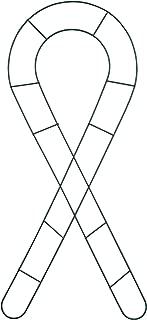 Darice F006-24 Floral Metal Form Awareness Ribbon, 24