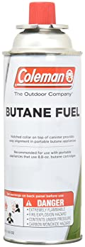 COLEMAN CO-FUEL 9701-700 Butane Canister, 8.8 oz,White/Red
