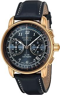 [ツェッペリン]ZEPPELIN 腕時計 LZ126 LosAngeles ネイビー文字盤 76163 メンズ 【正規輸入品】