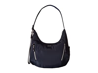Pacsafe Stylesafe Anti-Theft Convertible Length Crossbody (Navy) Cross Body Handbags