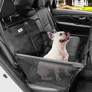 MATCC Asiento del Coche de Seguridad para Mascotas Protector del Coche para Perros Impermeable Extraíble Plegable Asiento Trasero para Mascotas del Coche para Viaje
