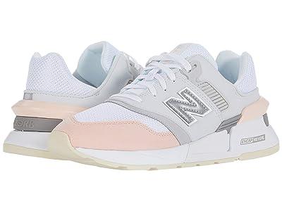New Balance Classics 997 Sport (Munsell White/Peach) Women