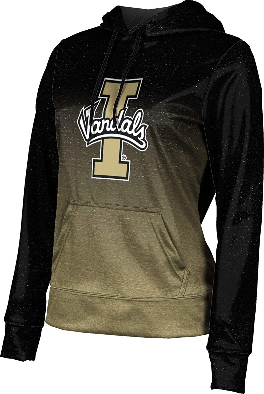 University of Idaho Girls' Pullover Hoodie, School Spirit Sweatshirt (Ombre)