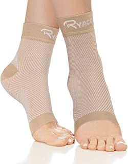 Ryaco Compression Socks - Plantar Fasciitis Sock Foot Care Sleeve with Arch & Ankle Support for Achilles Tendonitis Pain Relief, Heel Pain, and Treatment for Everyday Use