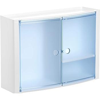 Tatay 4480100 Armario de Baño Rinconero, Plástico y Polipropileno, Azul, 20x20x62.5 cm: Amazon.es: Hogar