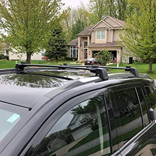 AUXMART Roof Rack Cross Bars for 2011–2016 Jeep Compass MK (Old Body Style)