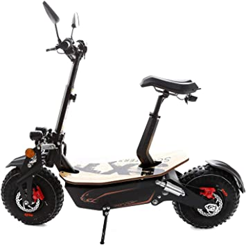 SXT Monster - Patinete eléctrico todoterreno con motor de ...