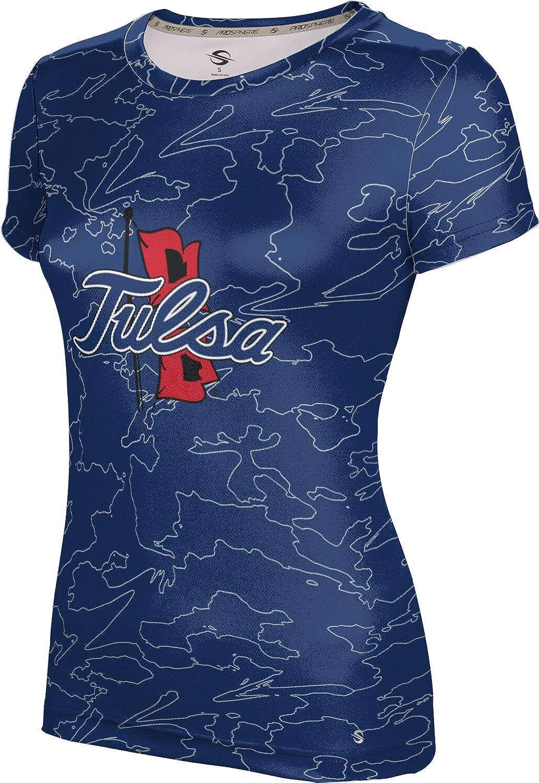 ProSphere University of Tulsa Girls' Performance T-Shirt (Topography)