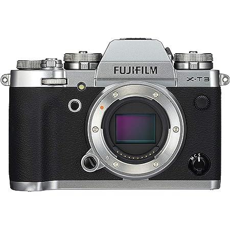 FUJIFILM ミラーレス一眼カメラ X-T3ボディ シルバー X-T3-S