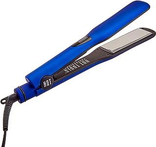 Hot Tools Professional 1 1/2 Inch Radiant Blue Digital Salon Flat Iron Titanium Model No. HT7120F