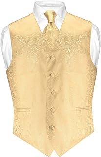 SHOWNO Men Sleeveless Wedding Club Formal Button Up Plain Dress Vest