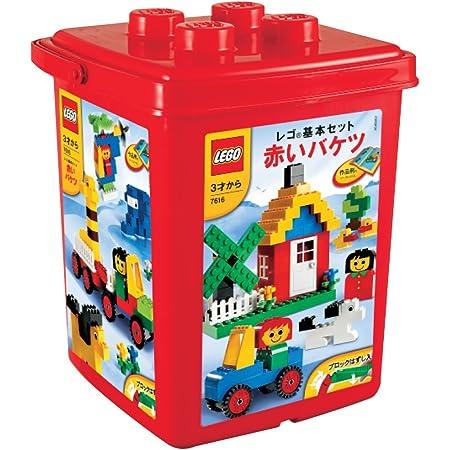レゴ (LEGO) 基本セット 赤いバケツ (ブロックはずし付き) 7616