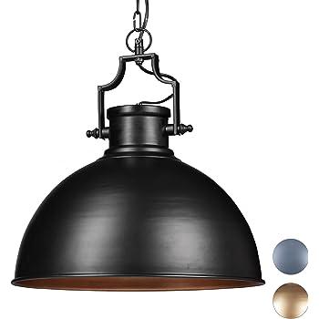 E27 40.00W 220.00V Ohne Netz-deckel-40cm luminaria industrial con c/úpula r/ústica en cobre para loft comedor Frideko restaurantes metal L/ámpara colgante de estilo Vintage sal/ón cafeter/ías