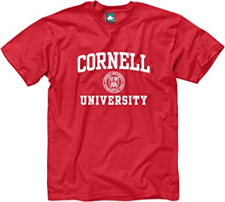 Ivysport Adult Cotton T-Shirt, Short Sleeve, with Official Crest Logo for NCAA Colleges