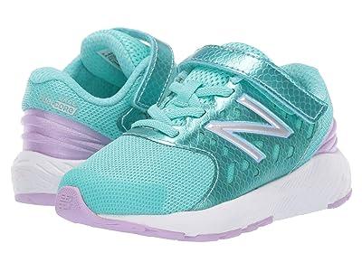 New Balance Kids IXURGv2 (Infant/Toddler) (Tidepool/Dark Violet) Girls Shoes