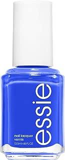 essie bright blue nail polish