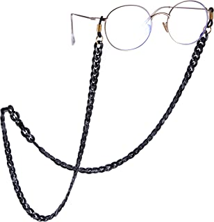 Hocaies Sport Glasses Strap Universal Adjustable Spectacles Cord Retainer Soft Anti Skid Glasses Chain For Women and Men.