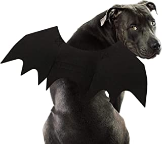 RYPET Dog Bat Costume - Halloween Pet Costume Bat Wings Cosplay Dog Costume Cat Costume for Party