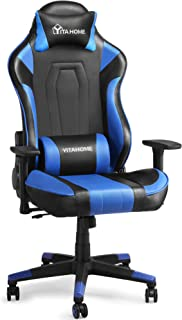 YITAHOME Massage Gaming Chair Big and Tall 350lbs Office Computer Desk Chair with Lumbar Support, Ergonomic Racing Style H...