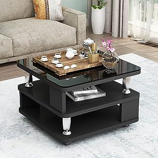 CJDM Petite Table Basse, Table d'angle Simple, Petite Maison d'appartement Petite Table carrée Armoire de Rangement de Chevet