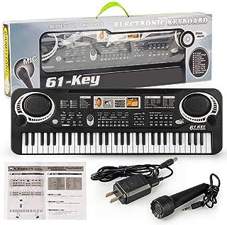 FAROOT Kids Piano Keyboard, 61 Key Electric Keyboard Piano w