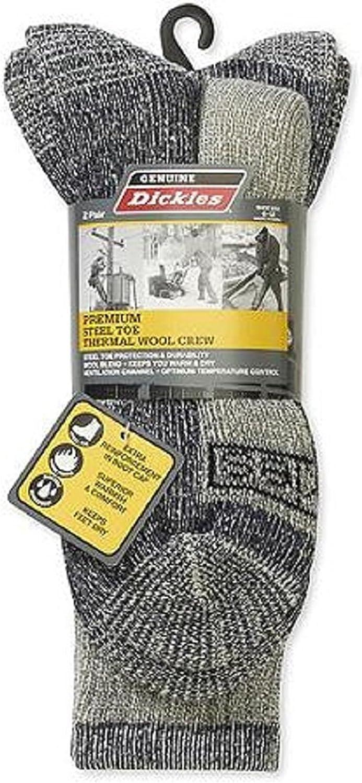 Dickies Steel Toe Wool Thermal Crew Socks