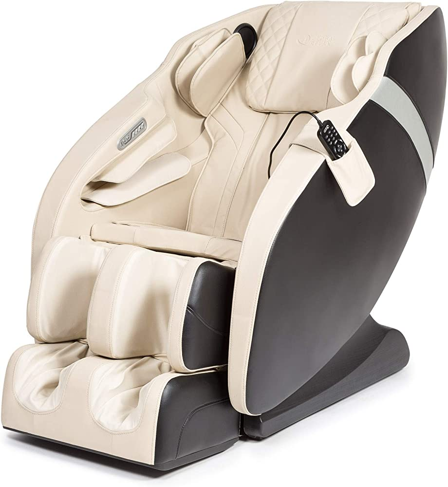Global relax,karma, poltrona massaggiante 2d,6 programmi di massaggio professionale, pressoterapia, termoterap EU-KARMA-BEIGE-BLACK-R8311-21