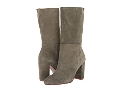 Chinese Laundry Keep Up (Willow Green Suede) High Heels