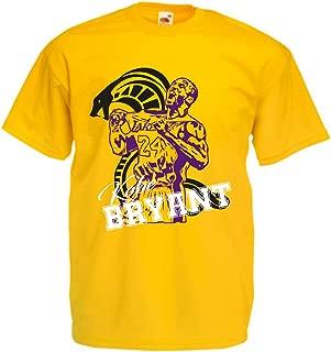 vestipassioni Felpa Cappuccio Kobe Bryant Basket Supporter Sport Legend