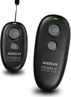 AODELAN Wireless Shutter Release Remote Control for Canon EOS RP, Rebel T6, T7, SL2, 6D Mark II, 7D Series, 5D Series; for...
