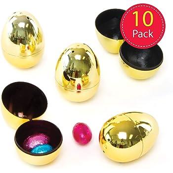 Rayher 39570000 /œufs de p/âques en plastique ouverts 5 x 4cm couleurs assorties