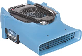 Dri Eaz Velo PRO Air Mover F505 Professional Water Damage Dryer for Carpets, Walls, Floors, 1.2 Amps on Low Saves Power, Variable Speed, High Velocity, Quiet, Well Built, Daisy Chains, Blue