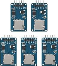 SenMod 5PCS Micro SD Card Micro SDHC Mini TF Card Adapter Reader Module for Arduino