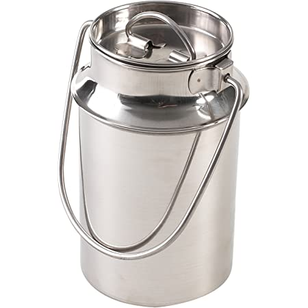1,5 L Milchkanne Edelstahl 1,5 Liter MILCHKANNE GROß ideal 1,5L Milch