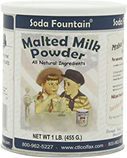 Soda Fountain Malted Milk Powder, 16-Ounce (Pack of 3)