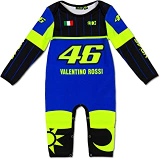 VR46 Valentino Rossi MotoGP Baby Race Overalls Sleepsuit Age 6-24months Toddlers